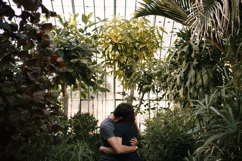 photo couple jardin serre auteuil
