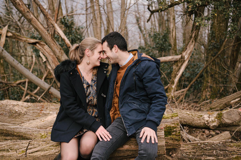 seance couple en montagne