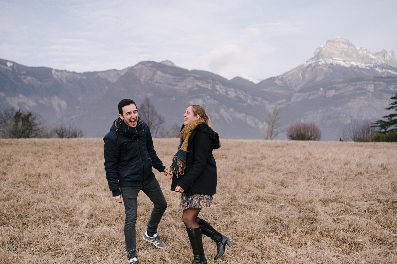 seance engagement en montagne